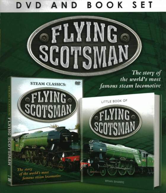 FLYING SCOTSMAN DVD & Book Gift Set - Click Image to Close