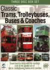 CLASSIC TRAMS, TROLLEYBUSES, BUSES & COACHES 3 DVDset