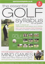 THE ESSENTIAL GOLF SYLLABUS For All Golfers 2 DVDset