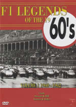 F1 LEGENDS OF THE 1960'S Vol 1 1960 - 1962