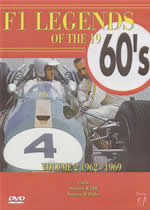 F1 LEGENDS OF THE 1960'S Vol 2 1962 - 1969