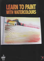 LEARN TO PAINT WITH WATERCOLOURS 3 DVDset