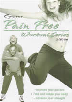 EGOSCUE PAIN FREE WORKOUT SERIES Volume 1 & 2 Double DVDset