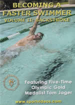 BECOMING A FASTER SWIMMER Vol 2 Backstroke