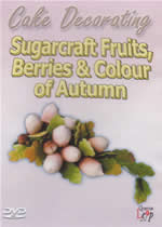 CAKE DECORATING Sugarcraft Fruits, Berries And Colour Of Autumn