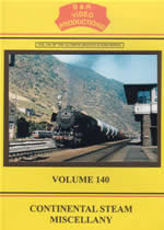 CONTINENTAL STEAM MISCELLANY Volume 140