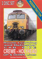 CREWE - HOLYHEAD Cab Ride Double DVDset