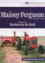 MASSEY FERGUSON ARCHIVE Vol 10 Machines For The World