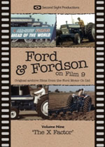 FORD & FORDSON ON FILM Vol 9 The X Factor