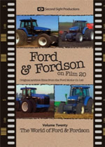 FORD & FORDSON ON FILM Vol 20 The World Of Ford And Fordson
