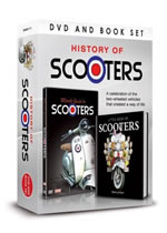 HISTORY OF SCOOTERS DVD & Book Gift Set